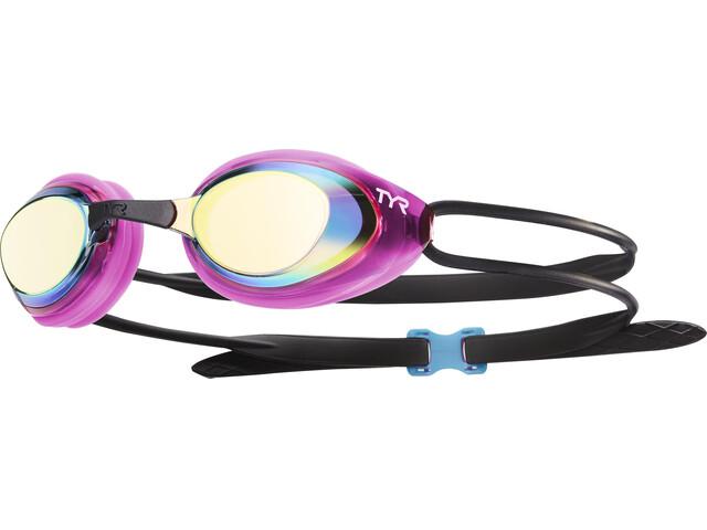 TYR Black Hawk Racing Polarized duikbrillen Dames roze